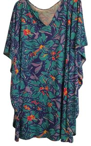 Lilly Pulitzer short dress Blue Beach Coverup on Tradesy