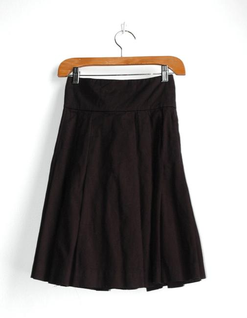 Twenty8Twelve Sienna Miller Heavy Cotton High Waist Skirt black