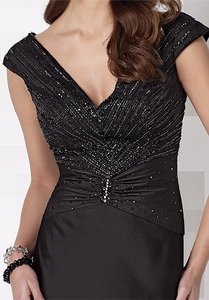 Cameron Blake Black Cameron Blake 212683 Dress