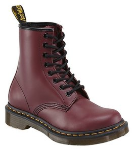 Dr. Martens Classic Eyelet Leather Cherry Red Boots
