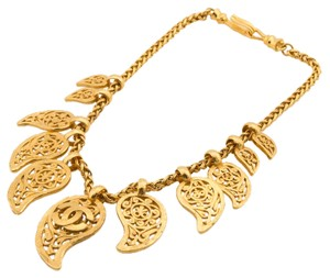 Chanel Chanel CC Necklace Gold (Authentic Pre Owned)