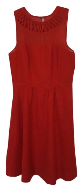 Preload https://item3.tradesy.com/images/anthropologie-red-knee-length-cocktail-dress-size-2-xs-4085002-0-0.jpg?width=400&height=650