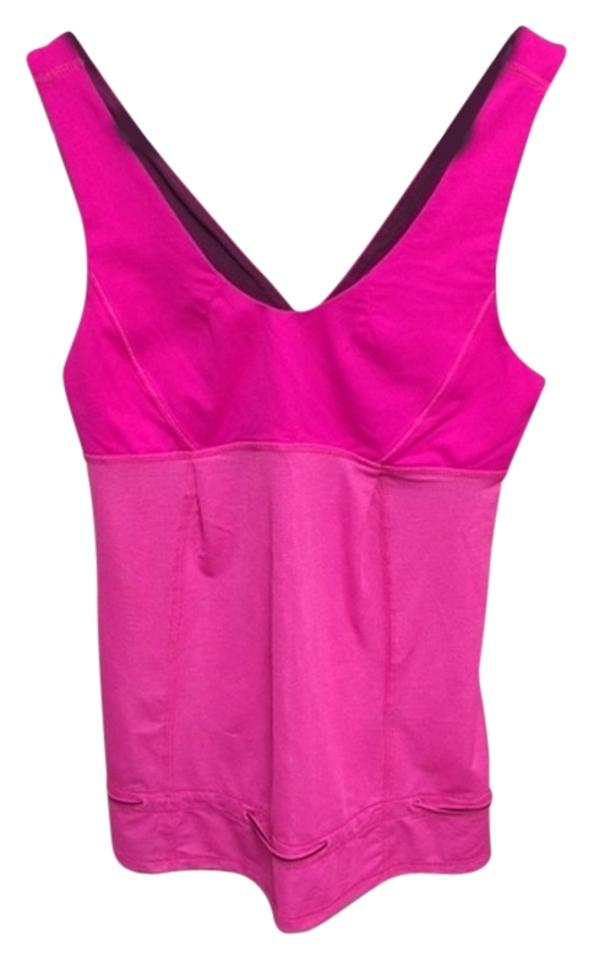 30cf0b32733fff Lululemon Hot Pink Activewear Top. Size  6 ...