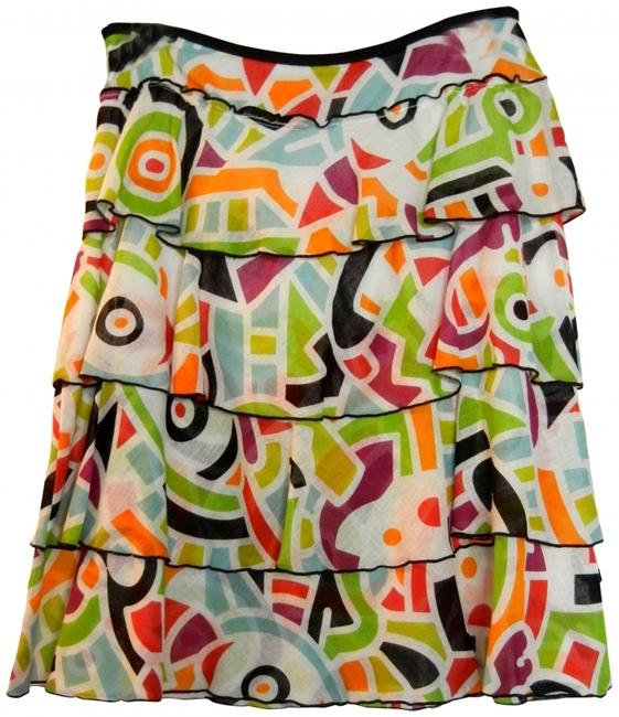 Cynthia Steffe Skirt Multi color