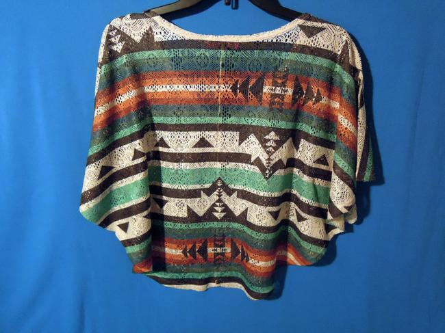Annabelle Top indian print multi color