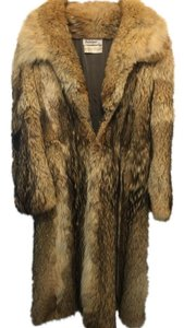 Revillon Boutique Saks Fifth Avenue Vintage Monogram Fur Coat