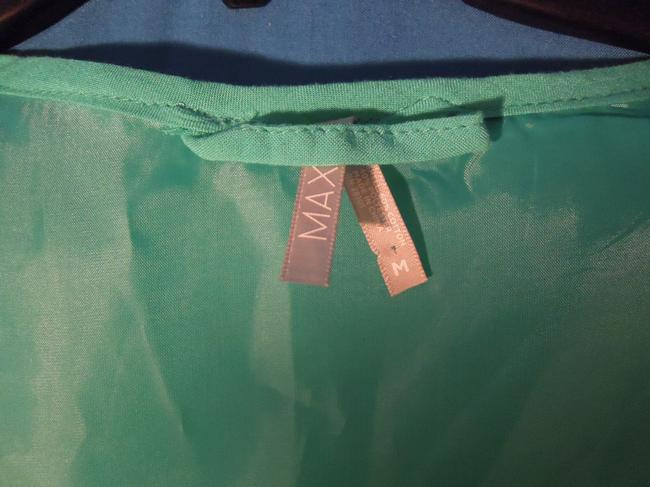 Max Rave Top teal green