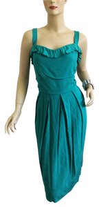 Ruby Rox short dress Green Summer Brunch Backyard Wedding on Tradesy