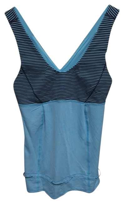 Lululemon Lululemon blue/navy stripe top