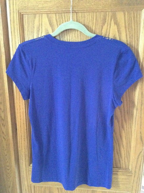 Kenneth cole blue style 51323 tee shirt size 10 m tradesy for 95 cotton 5 elastane t shirt