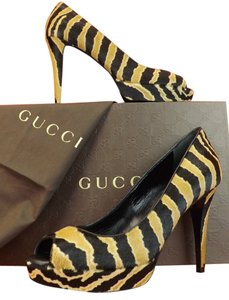 Gucci Black/Caramel Pumps