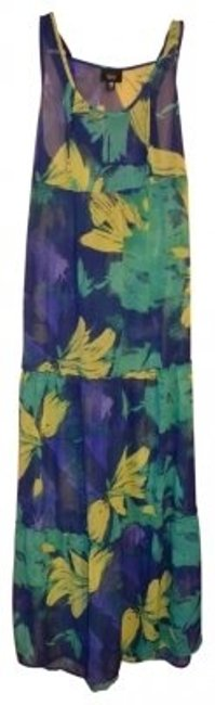 Preload https://item3.tradesy.com/images/mossimo-supply-co-blue-green-and-yellow-beachy-floral-long-casual-maxi-dress-size-2-xs-40872-0-0.jpg?width=400&height=650