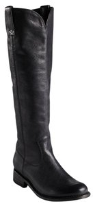 Dolce Vita Dv Riding Leather Leather Lujain Black Boots