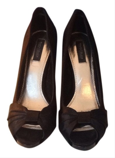 Whire House Black Market High Heel Heels Size 8 Formal Black Pumps