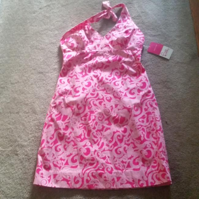 Lilly Pulitzer short dress Pink Print on Tradesy