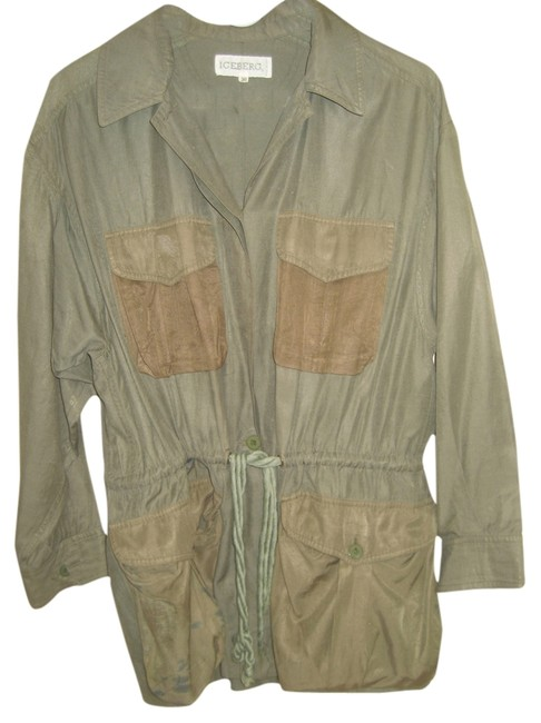 Preload https://item5.tradesy.com/images/iceberg-green-cargo-and-matching-shirt-outfit-pant-suit-size-4-s-4087849-0-0.jpg?width=400&height=650