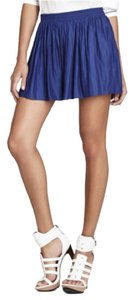BCBGMAXAZRIA Dress Shorts Blue Depth