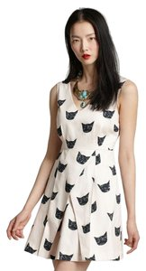 Anthropologie Cats Featured Dress