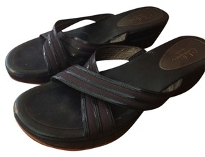 Cole Haan Nike Air Technology Leather brown Sandals