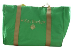 Kat Burki Green Travel Bag