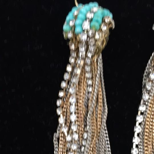 Other A Small Turquoise Withe Gold and Silver Plated