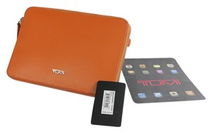 Tumi Orange Clutch