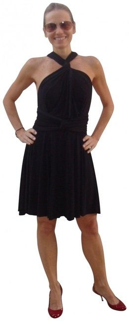 Preload https://item1.tradesy.com/images/black-wrap-above-knee-cocktail-dress-size-os-one-size-409015-0-0.jpg?width=400&height=650