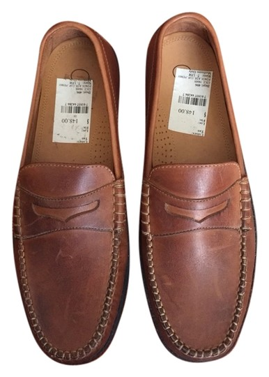Cole Haan Driving Moccasins Mens 7/ Women's 8.5 Brown Flats
