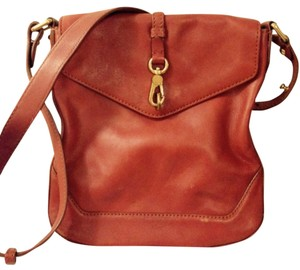 Marc by Marc Jacobs Orange Brown Messenger Bag