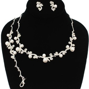 3 Pcs Pearl Necklace Set