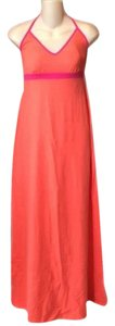 Coral Pink Maxi Dress by Tommy Bahama Maxi Long Strapless