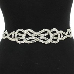 Adjustable Length Rhinestone Bridal Belt