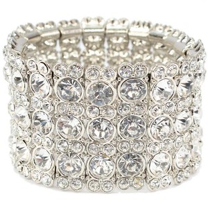 Bridal Crystal/rhinestone Stretch Bracelet