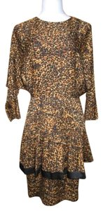 St Gillian Silk Dolman Vintage Dress