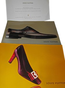 Louis Vuitton 2006 2007 Set 2 Louis Vuitton Shoe Catalog Collection