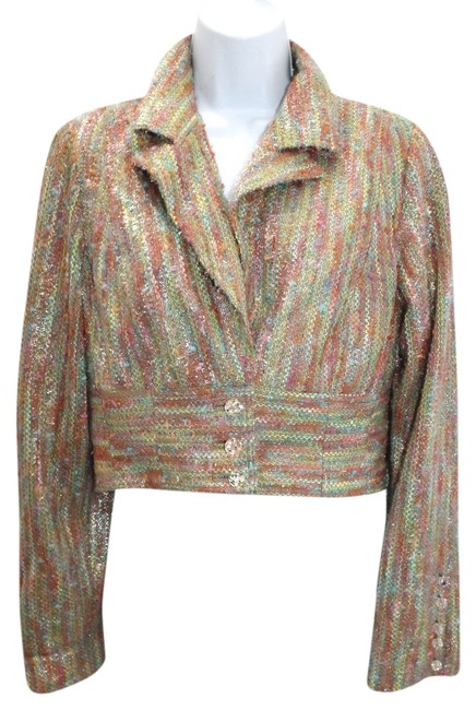 Preload https://item1.tradesy.com/images/couture-paris-multicolored-pilling-cropped-jacket-s-blazer-size-4-s-4091875-0-0.jpg?width=400&height=650