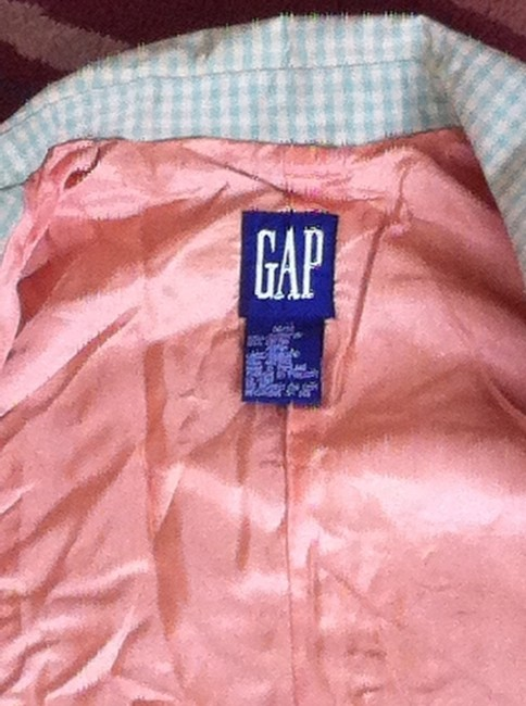 Gap Plaid Coat Trench Coat