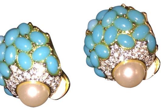 From Italy Eating. Turquoise. Mother-Of-Pearlvery Light
