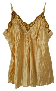 Bisou Bisou Satin Large Top Gold