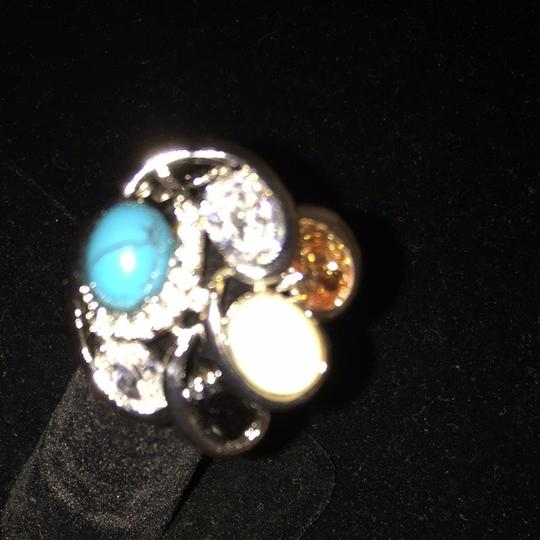 Other Onyx Ring Turquoise. And Garment And. C Z