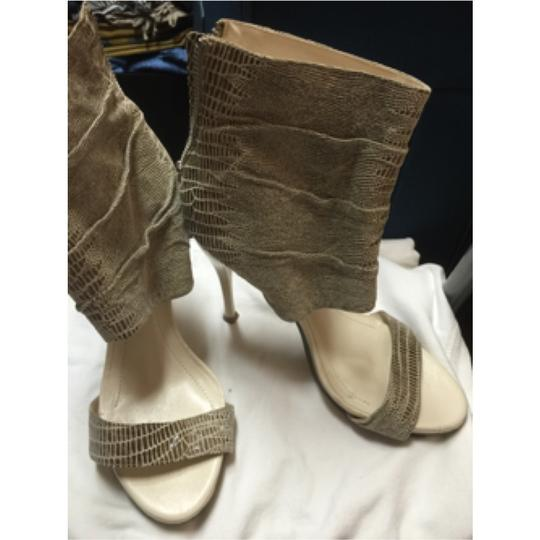 BCBG Paris Beige/ brown Platforms