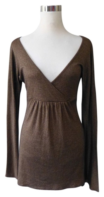 Preload https://item1.tradesy.com/images/michael-stars-metallic-tunic-brown-4092865-0-0.jpg?width=400&height=650