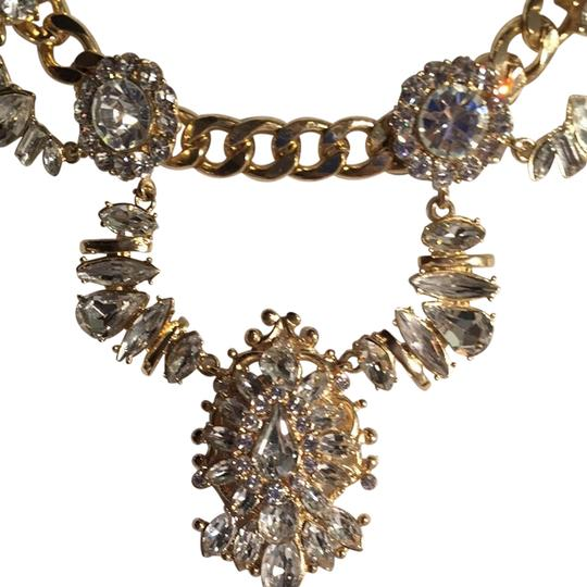 Auzr And Again Necklace Gold Plated CZ