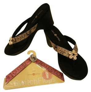 Lindsay Phillips Brenna Black Sandals