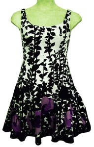 Nine West short dress Multi-Color Sleeveless Knee-length Fit & Flare Scoop-neck on Tradesy