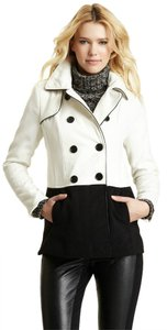 Steve Madden Trench Color-blocking Pea Coat