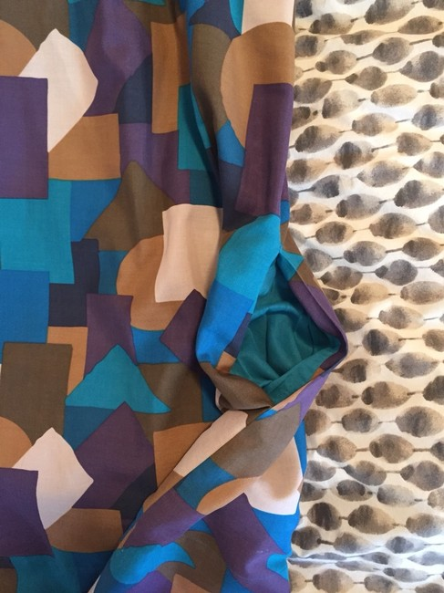 Marc by Marc Jacobs short dress Purple, Teal, Camel on Tradesy