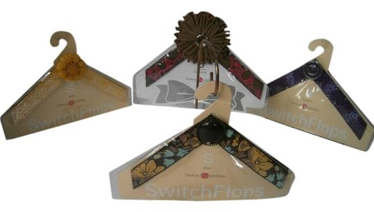 Lindsay Phillips SwitchFlops 4 NEW LINDSAY PHILLIPS SwitchFlops Straps Interchangeable Straps Sz Small 4 Pair