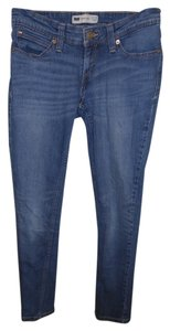 Levi's Levi Label Demi Curve Low Rise Demin Skinny Jeans-Medium Wash