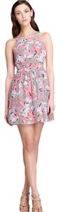 Rebecca Taylor short dress Multi-color Floral Silk on Tradesy